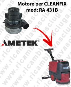 RA 431B Motore aspirazione AMETEK ITALIA per lavapavimenti CLEANFIX