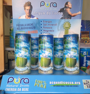 5+1 - ACQUA DI COCCO - Compra 5 confezioni  e la sesta è in Omaggio!  Confezioni composte da 24 lattine da 250 ml (1,56 Euro a lattina invece di 2.50)