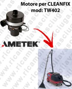 TW402 MOTORE AMETEK di aspirazione per aspirapolvere CLEANFIX