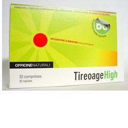 TIREOAGE HIGH - NATURAL BENEFIT FOR IPERTIROIDS - Supports mental and metabolic relaxation and well-being.