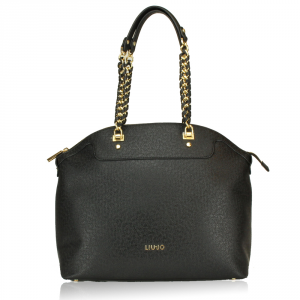 Shoulder bag Liu Jo ANNA CHAIN A67002 E0087 NERO