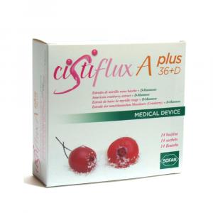 CISTIFLUX A PLUS 36 + D: CRANBERRY EXTRACT BERRIES + D-Mannose