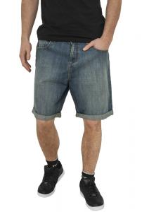 Bermuda Jeans con risvolto