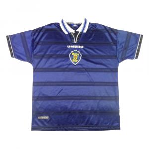 1998-00 Scozia Maglia Home XL