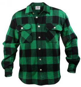 Camicia in flanella pesante