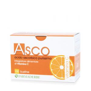 ASCO integratore di vitamine minerali antiossidanti 100 BUSTINE