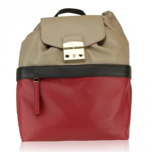 Backpack Furla LARA 835809 TORTORA a+RUBINO a