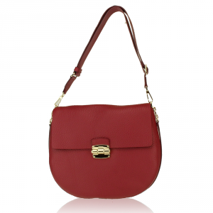 Shoulder bag Furla CLUB 834758 RUBINO