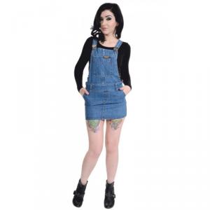 Minigonna Salopette Jeans