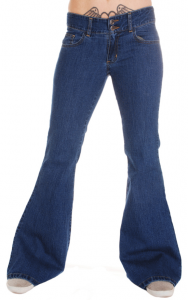 Jeans a Zampa Indie Retro 60s-70s