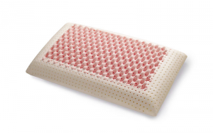 Cuscino Memory Pink con tessuto Silver