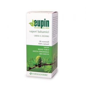 EUPIN VAPORI BALSAMICI emulsione di olii essenziali per sauna,bagno turco,doccia-favorisce RILASSAMENTO e RESPIRAZIONE