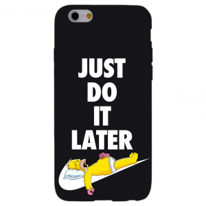 JUST DO IT LATER cover per iphone