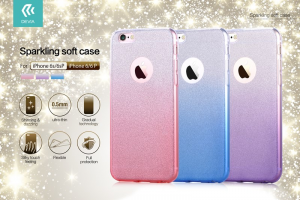 Custodia Fashion Sparkling Soft per iPhone 6/6s