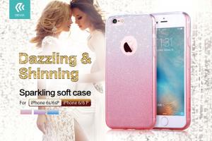Custodia Fashion Sparkling Soft per iPhone 6/6s