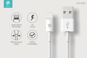 Cavo Dati e Carica iPhone e iPad IOS lightning 8 pin - Lunghezza 1 metro