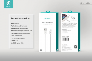 Cavo Dati e Carica iPhone e iPad IOS lightning 8 pin - Lunghezza 1 metro
