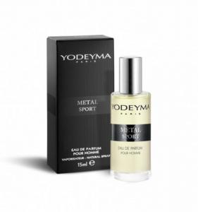 Yodeyma METAL SPORT Eau de Parfum 15 ml mini Profumo Uomo