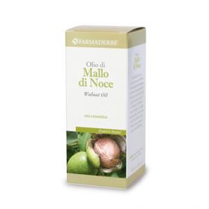 OLIO DI MALLO DI NOCE ricco di acidi grassi insaturi essenziali e vitamina C, nutre e rinforza i capelli