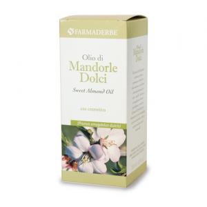 OLIO MANDORLE DOLCI 250 ML contrasta smagliature, ideale per massaggi nutriente ed emolliente