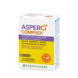 ASPER Ci COMPLEX favorisce le naturali difese dell'organismo indebolite dai primi freddi