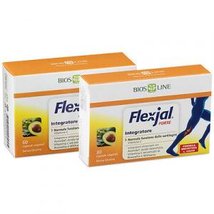 FLEXJAL FORTE integratore CARTILAGINI e ARTICOLAZIONI ideale per SPORTIVI