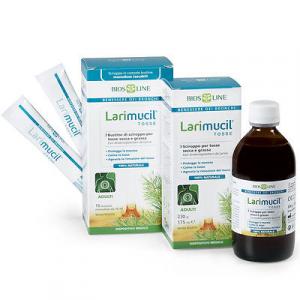 LARIMUCIL TOSSE ADULTI  tosse SECCA o GRASSA aiuta la rimozione del MUCO