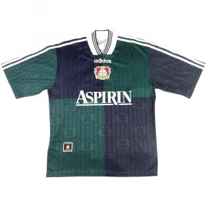 1997-98 Bayer Leverkusen Maglia Away S