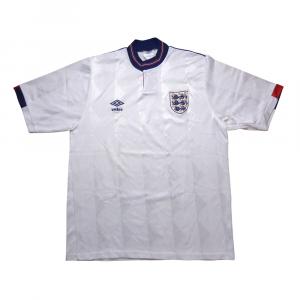 1987-90 Inghilterra Maglia Home L