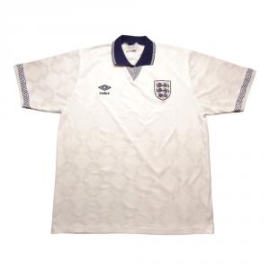 1990-92 Inghilterra Maglia Home L