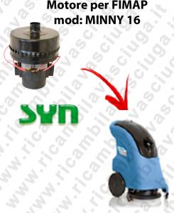 MINNY 16 Motore aspirazione SYN per lavapavimenti FIMAP