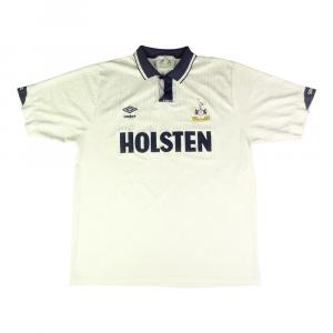 1991-93 Tottenham Maglia Home L