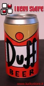 Simpson Birra Duff lattina salvadanaio