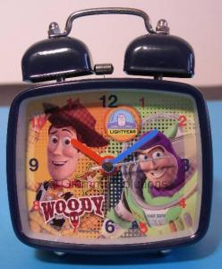 Disney Pixar Toy Story sveglia metallo squadrata