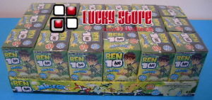 Ben 10 mini figure brilla al buio pack sorpresa