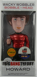 Big Bang Theory RARO Howard Star Trek metallic bobble head figure 18 cm Funko