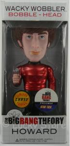 Big Bang Theory RARO Howard Star Trek metallic bobble head figure 18 cm Funko