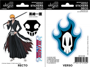 Bleach Ichigo Soul Society mini stickers 16 x 11 cm