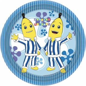 Banane in Pigiama 8 piatti 23 cm party