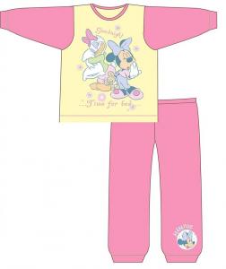 Disney Minnie pigiama  bambina rosa  nero cotone da 1 a 4 anni