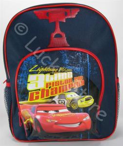 Disney Cars zainetto asilo 40 cm rosso lampone