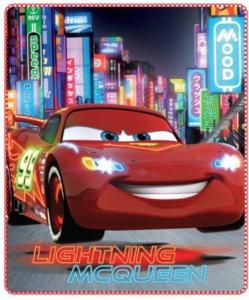 Disney Cars plaid copertina pile 140x120 nuovo originale