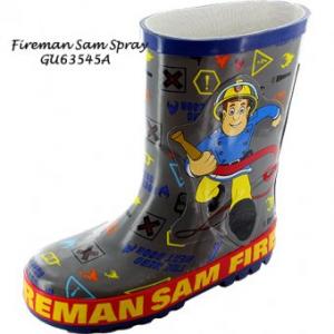 Sam il Pompiere Stivali Gomma bambino blu