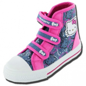 Hello Kitty scarpe converse denim