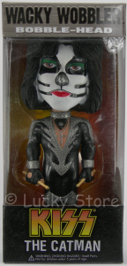 Kiss Catman Peter Criss wacky wobbler bobble head figure 18 cm Funko