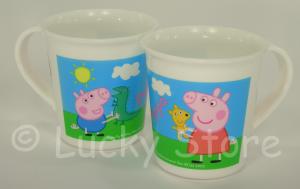 Peppa Pig tazza plastica per microonde