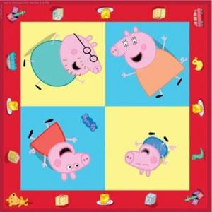 Peppa Pig 16 tovaglioli rosso 33x33cm festa party