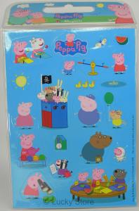 Peppa Pig calamite foglio 24 magneti