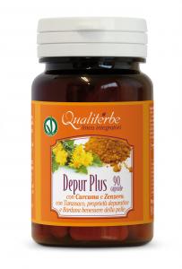 DEPUR PLUS 90 CAPSULE (Vegan Ok) Depurativo generale dell'organismo