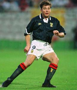 1992-94 Scozia Maglia Home L